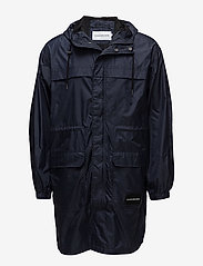 Calvin Klein Jeans - MID LENGTH HOODED NYLON PARKA - parkatakit - night sky - 0