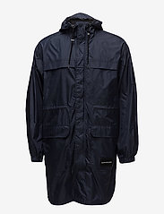 Calvin Klein Jeans - MID LENGTH HOODED NYLON PARKA - parkatakit - night sky - 1