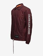 Calvin Klein Jeans - SL INSTITUTIONAL COACH JACKET - leichte jacken - tawny port - 3