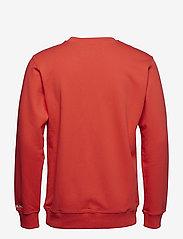 Calvin Klein Jeans - CALVIN LOGO CREW NECK - sweatshirts - tomato - 1
