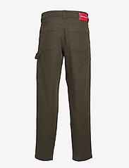 Calvin Klein Jeans - 056 GINOK UTILITY PANT - bojówki - grape leaf - 1