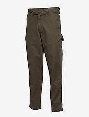 Calvin Klein Jeans - 056 GINOK UTILITY PANT - bojówki - grape leaf - 2