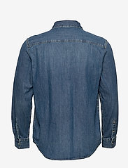 Calvin Klein Jeans - ICONIC SHIRT - denim overhemden - ca051 bright blue - 1