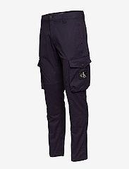 Calvin Klein Jeans - SKINNY WASHED CARGO PANT - cargo housut - night sky - 2