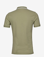Calvin Klein Jeans - CK ESSENTIAL TIPPING SLIM POLO - korte mouwen - earth sage/white - 1