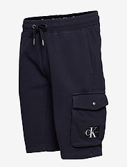 Calvin Klein Jeans - MONOGRAM BADGE HWK SHORT - casual shorts - night sky - 2