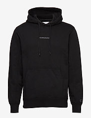 Calvin Klein Jeans - INSTIT CHEST LOGO RE - basic sweatshirts - ck black - 0
