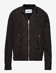 Calvin Klein Jeans - NYLON RACER WITH DETAILS - light jackets - ck black - 0