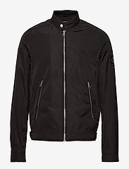 Calvin Klein Jeans - NYLON RACER WITH DETAILS - light jackets - ck black - 1