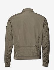 Calvin Klein Jeans - NYLON RACER WITH DETAILS - light jackets - new basil - 1