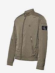 Calvin Klein Jeans - NYLON RACER WITH DETAILS - light jackets - new basil - 2