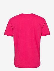 Calvin Klein Jeans - BADGE TURN UP SLEEVE - basic t-shirts - cerise - 1