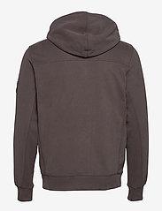 Calvin Klein Jeans - MONOGRAM BADGE HOODIE - hoodies - aluminium grey - 1