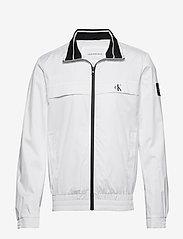Calvin Klein Jeans - ZIP UP HARRINGTON - kurtki-wiosenne - bright white - 0
