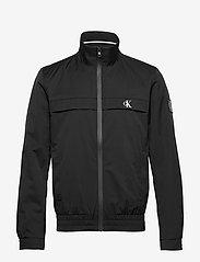 Calvin Klein Jeans - ZIP UP HARRINGTON - light jackets - ck black - 1