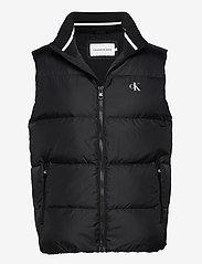 Calvin Klein Jeans - DOWN VEST - vesten - ck black - 0