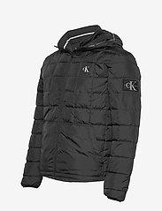 Calvin Klein Jeans - PADDED HOODED JACKET - kurtki puchowe - ck black - 3