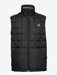 Calvin Klein Jeans - PADDED GILET - vests - ck black - 1