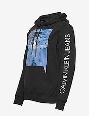 Calvin Klein Jeans - WAVE PHOTOPRINT HOODIE - hoodies - ck black - 2