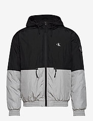 Calvin Klein Jeans - SILVER BLOCKING JACKET - kurtki-wiosenne - silver metallic - 1