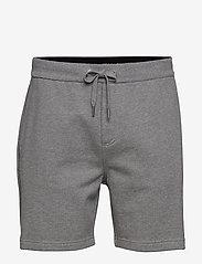 Calvin Klein Jeans - SIDE LOGO HWK SHORT - casual shorts - mid grey heather - 0