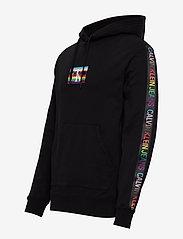 Calvin Klein Jeans - SMALL FLAG REG - hoodies - ck black - 2