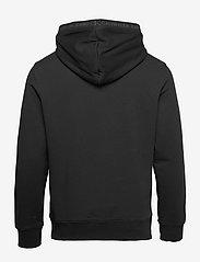 Calvin Klein Jeans - LOGO JACQUARD HOODIE - sweats à capuche - ck black - 1