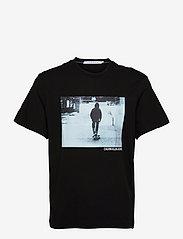 Calvin Klein Jeans - URBAN SKATER BOX S/S TEE - t-shirts à manches courtes - ck black - 0