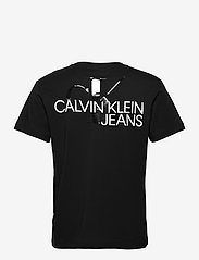 Calvin Klein Jeans - CK MONOGRAM CLEAR PRINT TEE - basic t-shirts - ck black - 1