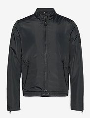 Calvin Klein Jeans - NYLON BIKER JACKET - windjassen - ck black - 0