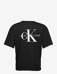 Calvin Klein Jeans - MONOGRAM MODERN RELAXED FIT TEE - t-shirts basiques - ck black - 1