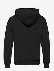 Calvin Klein Jeans - ZIP THRU MONOGRAM HOODIE - bluzy z kapturem - ck black - 1