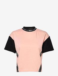 TECO-5 CN LWK S/S - t-shirts - peachy keen / ck black