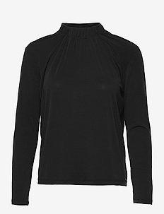 LEE MN LWK L/S - tops met lange mouwen - ck black