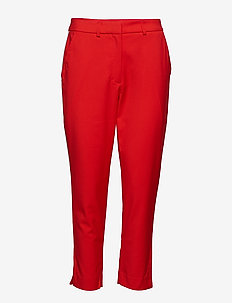 SIDE STRIPE TWILL PA - RACING RED