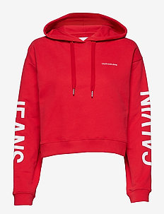 CROPPED INSTITUTIONA - RACING RED