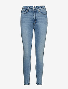 CKJ 010 HIGH RISE SKINNY ANKLE - AA028 LIGHT BLUE