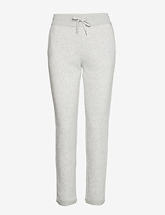 RAW HEM JOGGING PANT - LIGHT GREY HEATHER