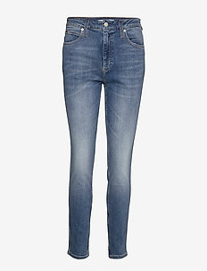 CKJ 010 HIGH RISE SKINNY - BA142 LIGHT BLUE TRIPLE NEEDLE