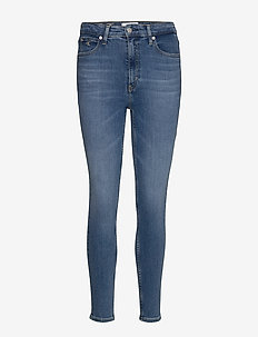CKJ 010 HIGH RISE SKINNY ANKLE - CA046 MID BLUE