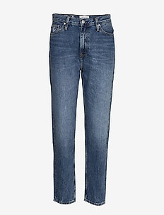 MOM JEAN - CA050 MID BLUE