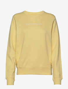 INSTITUTIONAL REGULAR CREW NECK - sweatshirts - mimosa yellow