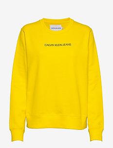 INSTITUTIONAL REGULAR CREW NECK - sweatshirts - solar yellow