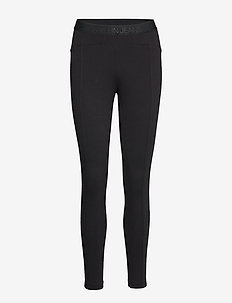 COATED MILANO LEGGINGS - CK BLACK