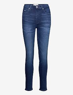 CKJ 010 HIGH RISE SKINNY - skinny jeans - ca060 mid blue