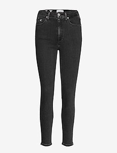 CKJ 010 HIGH RISE SKINNY ANKLE - CA043 BLACK