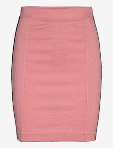 MILANO LOGO ELASTIC SKIRT - korta kjolar - brandied apricot