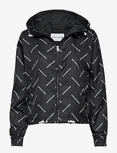 DIAGONAL LOGO WINDBREAKER - INSTITUTIONAL AOP