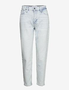 MOM JEANS - mor jeans - da071 bleached blue
