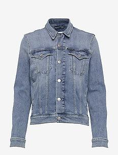FOUNDATION TRUCKER - jeansjacken - da100 light blue